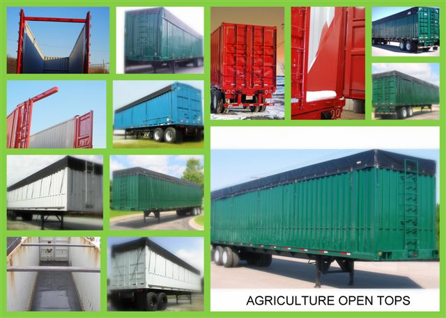 Ag open top trailers