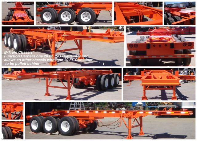 B train chassis trailers